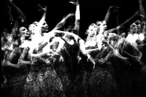 Compañía Andaluza de Danza. Bienal de Flamenco de Sevilla, 1996.  Foto: FJ Crespo