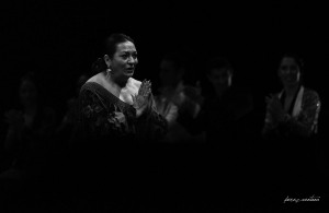 El  rezo de Farruca. Homenaje a Carmelilla Montoya. Fibes Sevilla, diciembre 2019. Foto: perezventana