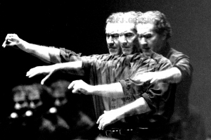Manolo Soler. Bienal de Arte Flamenco de Sevilla, 1996. Foto: FJ Crespo