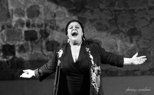 Chelo Pantoja. Semana Flamenca de Cartagena. Junio 2018. Foto: perezventana