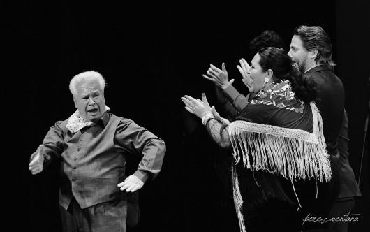 Homenaje a José Galván. Festival Tacón Flamenco de Utrera. Febrero 2020. Foto: perezventana