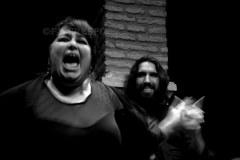 Inmaculada Rivero y Jesús Flores. Museo de Baile Flamenco, Sevilla. 2015. Foto: FJ Crespo