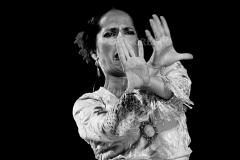 Mercedes Ruiz. I Festival Internacional de la Guitarra Flamenca, 2018. Jerez de la Frontera. Foto: FJ Crespo
