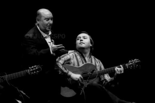 Homenaje a José Sánchez Bernal, Naranjito de Triana. Bienal de Flamenco de Sevilla, 1996. Foto: FJ Crespo