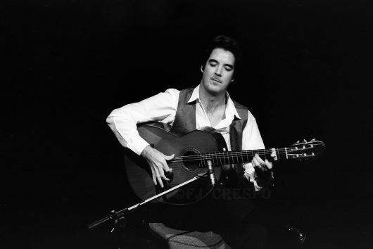 Concierto de Rafael Riqueni. Bienal de Flamenco de Sevilla, 1996. Foto: FJ Crespo