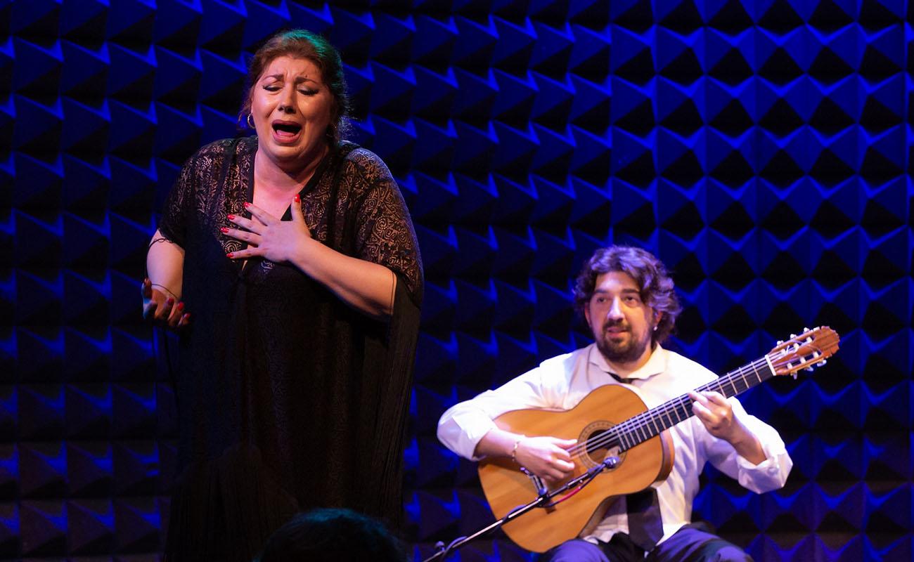 Mara Rey y Antonio Rey, en el Flamenco Festival NY 2019. Foto: Alejandro Mallado.