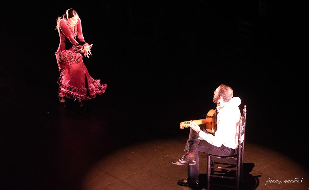 Alba Heredia. Ciclo Flamenco Viene del Sur. Teatro Central, Sevilla. Foto: Quico Pérez-Ventana