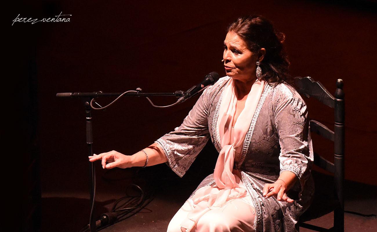 Aurora Vargas. Ciclo Flamenco Viene del Sur. Teatro Central, Sevilla. Foto: Quico Pérez-Ventana