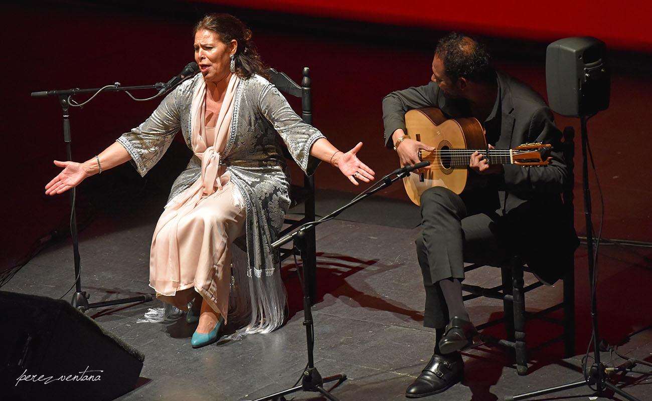 Aurora Vargas y Diego del Morao. Ciclo Flamenco Viene del Sur. Teatro Central, Sevilla. Foto: Quico Pérez-Ventana