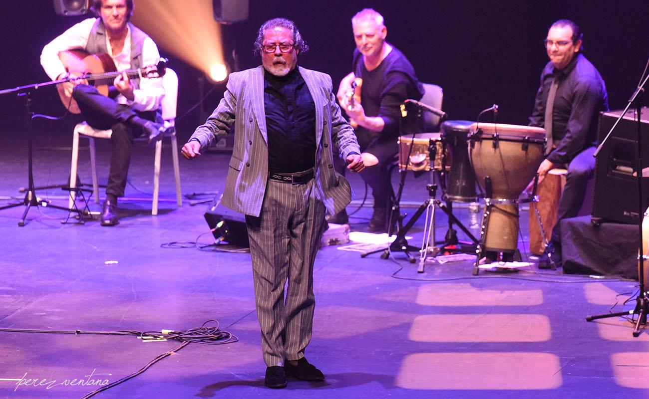 Diego Carrasco. Homenaje a El Lebrijano, 'Un gitano universal'. Cartuja Center Cite. Foto: Quico Pérez-Ventana