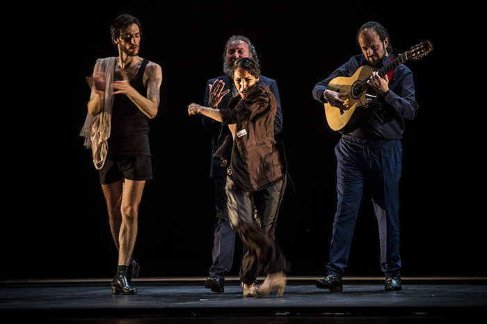 'Sin Permiso (Canciones para el silencio)', de Ana Morales, Festival de Jerez. Foto: Javier Fergo