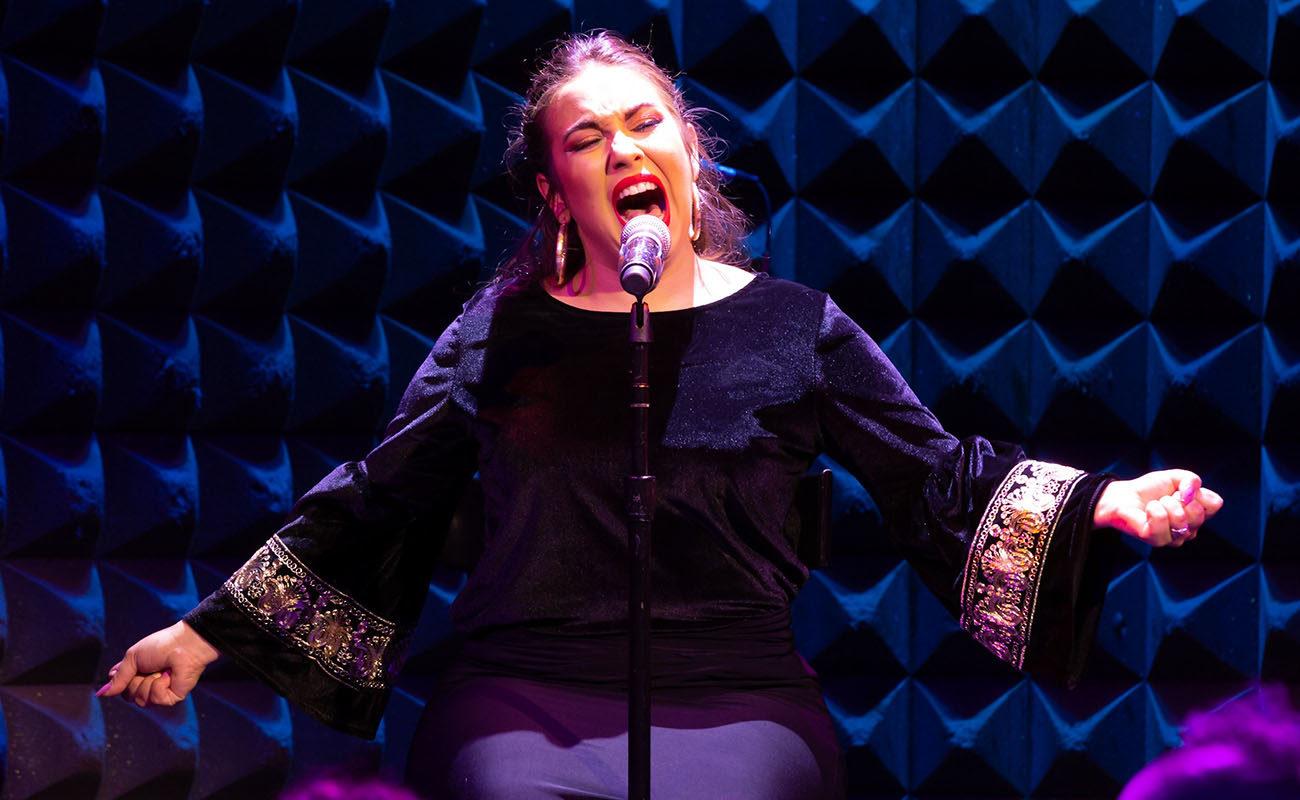 María Terremoto, en el Flamenco Festival NY 2019. Foto: Alejandro Mallado.