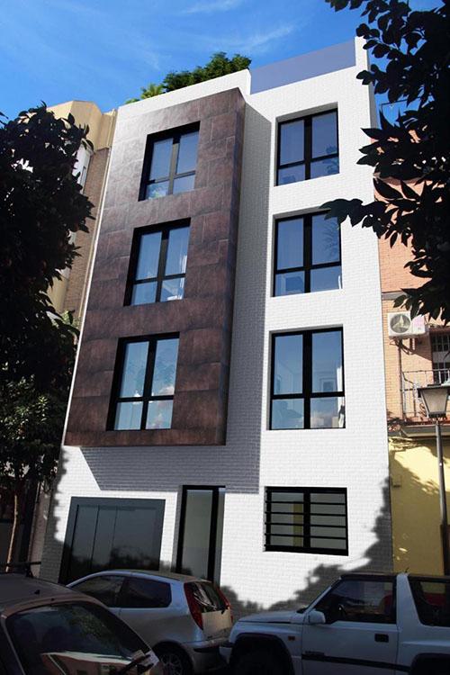 Proyecto del futuro Residencial Antonio Mairena, ubicado en el antiguo domicilio de Antonio Mairena en Nervión, Sevilla.