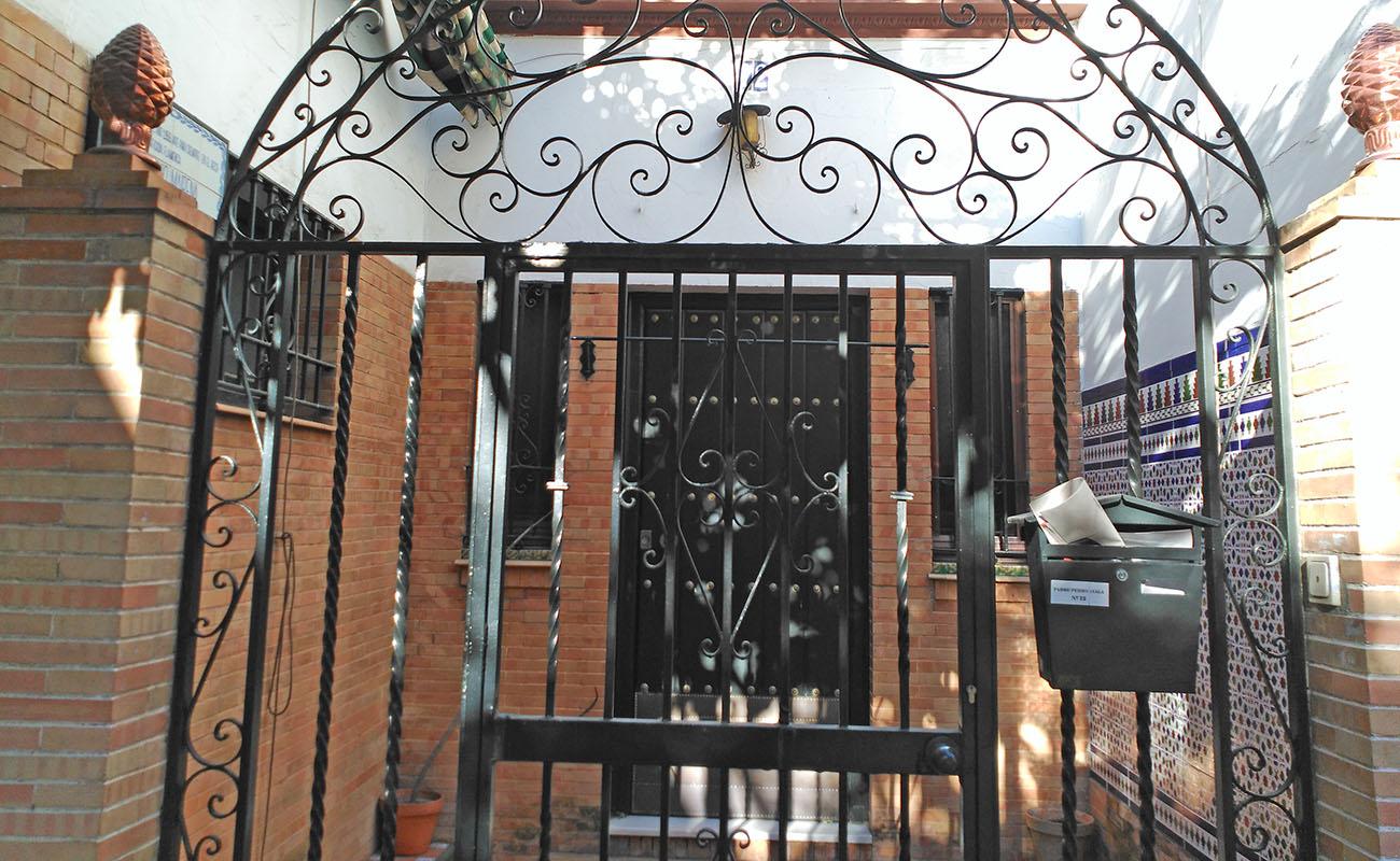 Casa de Antonio Mairena en el barrio sevillano de Nervión. Foto: Luis Pérez