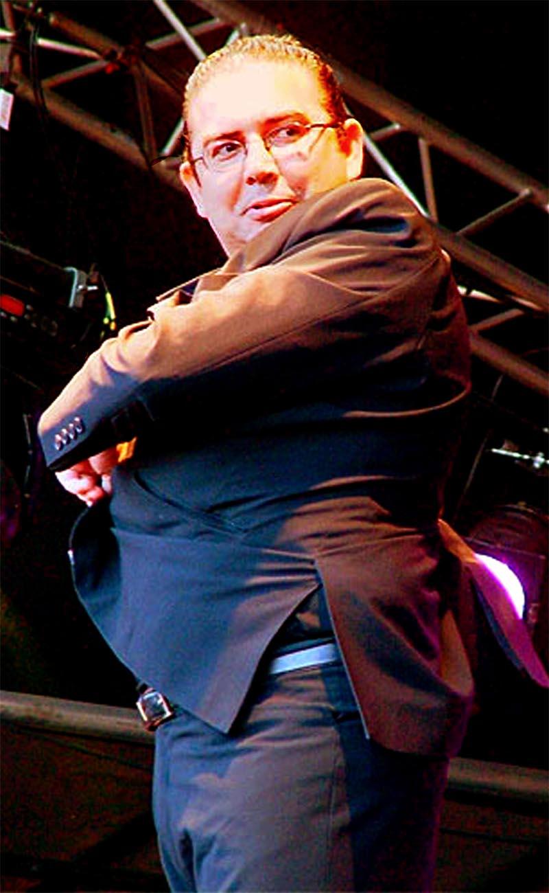Manolito Flores. Foto: Womad