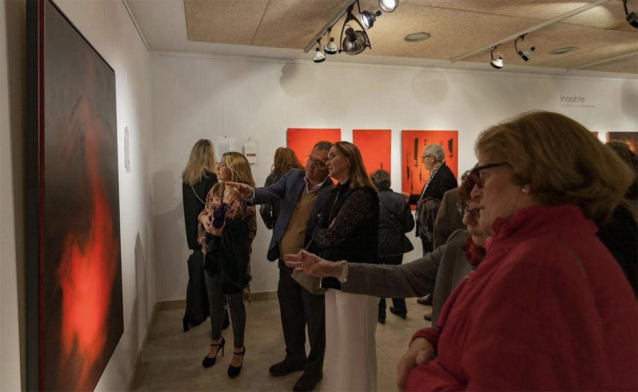 Imagen de la inauguración de la exposición 'Inasible' (Mercedes de Mata) en el Museo del Baile Flamenco, Sevilla. Foto: Museo del Baile Flamenco
