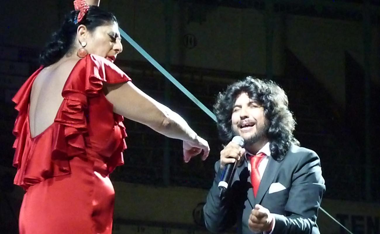 Manuela Carrasco y Rancapino. Fiesta de la Bulería. Foto: Estela Zatania