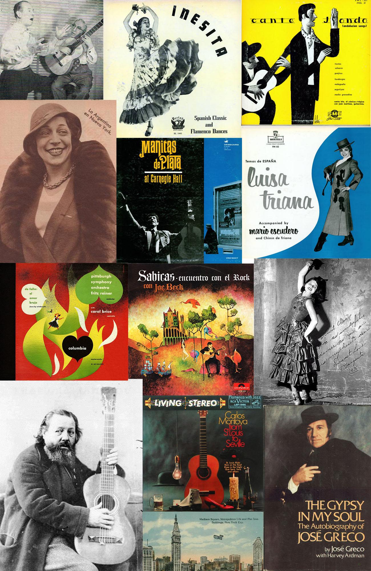 Flamenco en Nueva York. Imágenes recopiladas por José Manuel Gamboa.