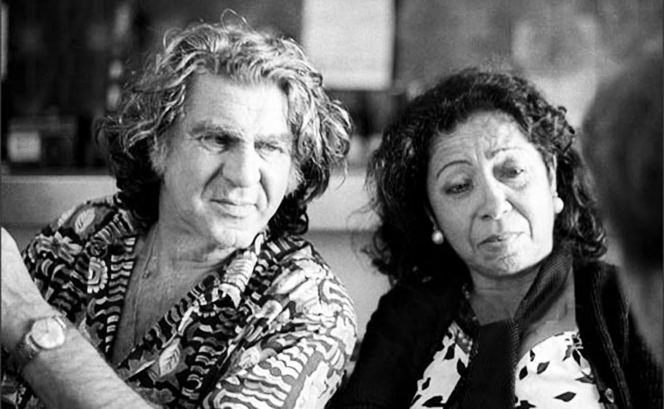 Anzonini con Fernanda de Utrera. Foto: Robert Klein