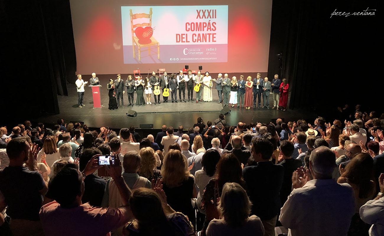 Gala XXXII Compás del Cante, Box Cartuja. 29 Mayo 2019. Foto: Quico Pérez-Ventana