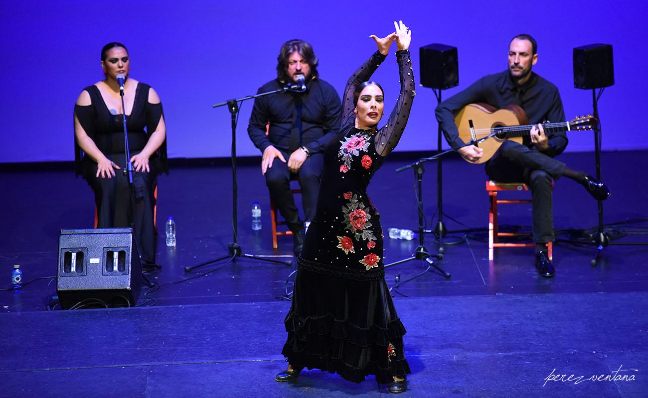 La bailaora Alba Heredia. Gala XXXII Compás del Cante, Box Cartuja. 29 Mayo 2019. Foto: Quico Pérez-Ventana