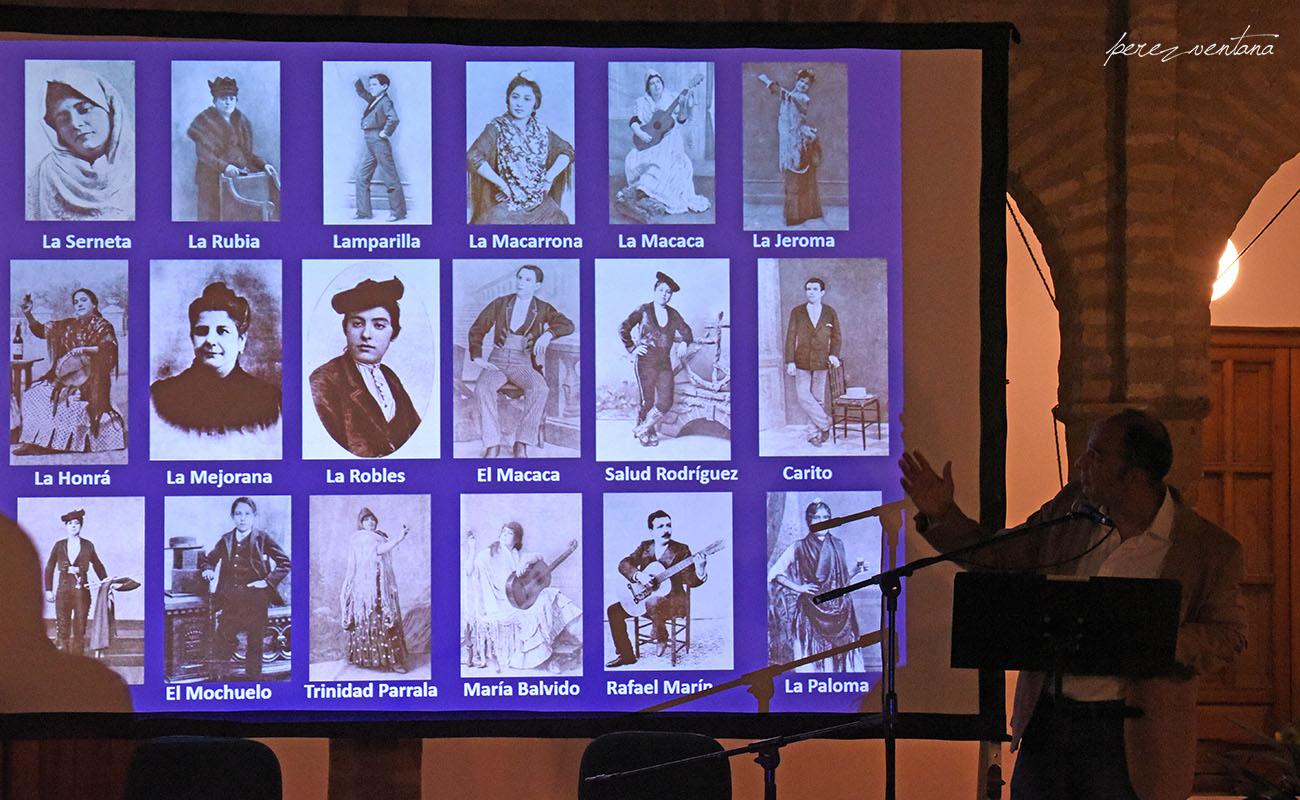 Conferencia de Luis Javier Vázquez sobre Silverio Franconetti. Fundación Blas Infante. Foto: Quico Pérez-Ventana (ExpoFlamenco)