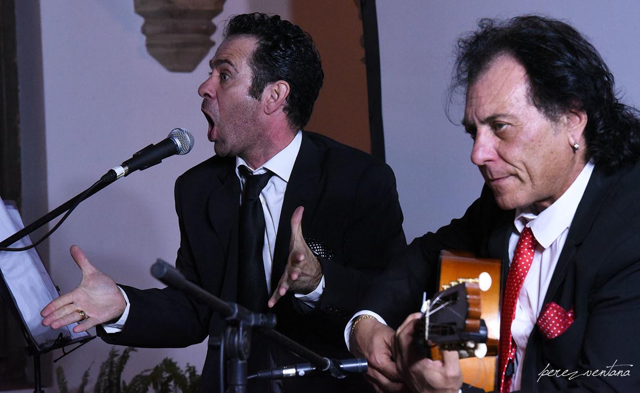Recital de Raúl Montesinos y Antonio Carrión. Ciclo Conocer el Flamenco. Fundación Blas Infante. Foto: Quico Pérez-Ventana (ExpoFlamenco)