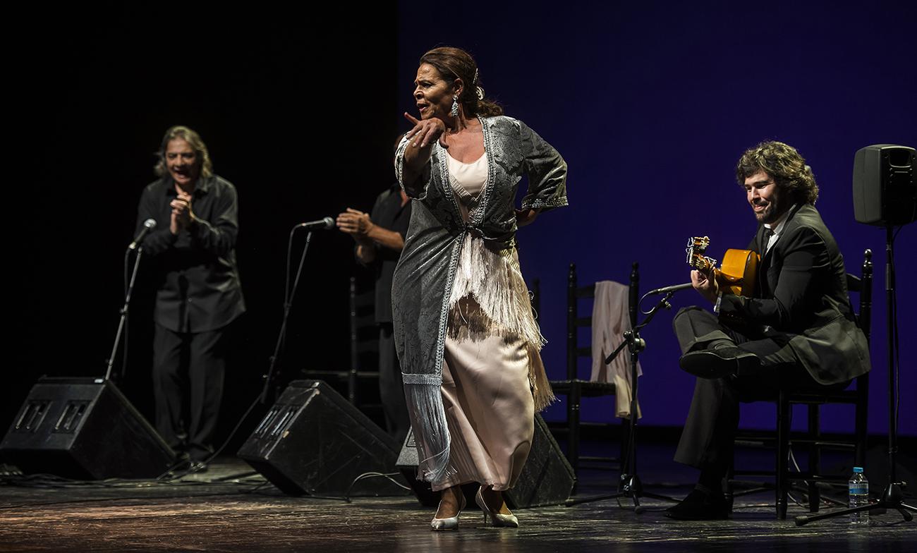 Aurora Vargas. Suma Flamenca 2018. Foto: David Mudarra