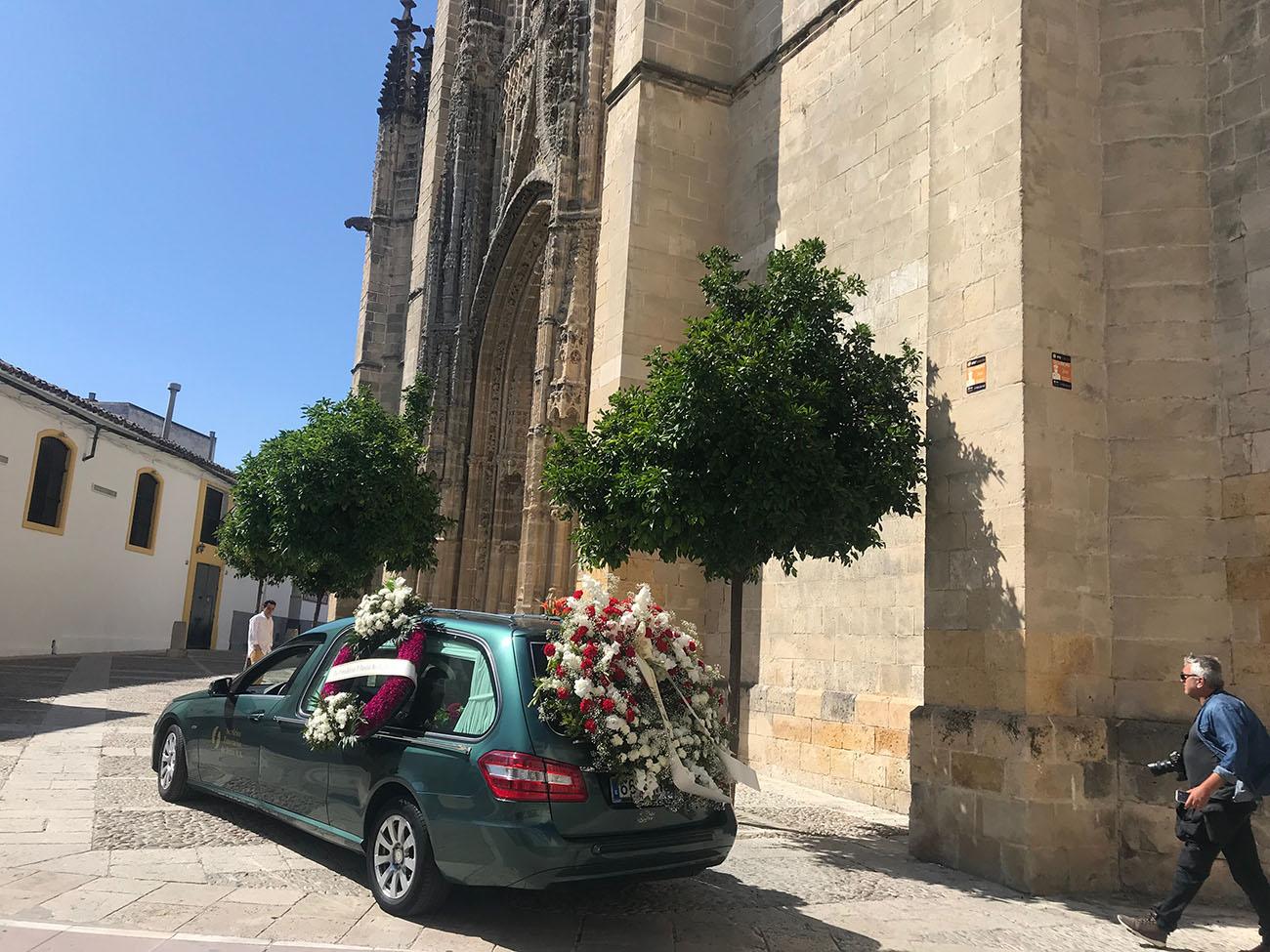 Entierro del cantaor Fernando de la Morena. Jerez, 6 junio 2019. Foto: Juan Garrido