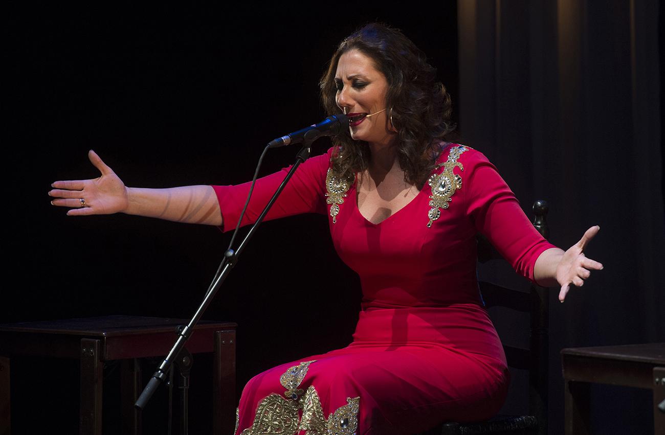 Marina Heredia. Suma Flamenca 2018. Foto: David Mudarra