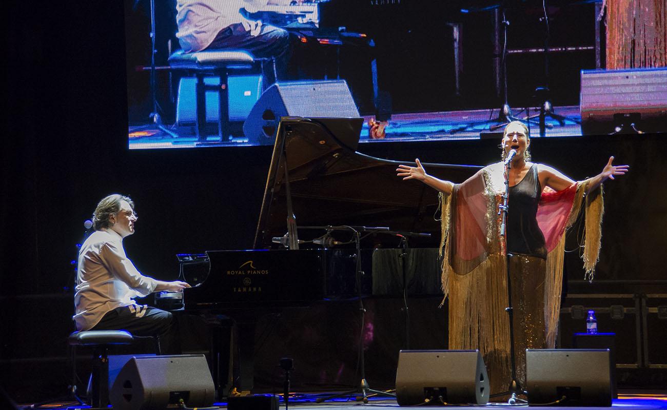 VI Encuentro Internacional de Guitarra Paco de Lucía (Algeciras, Cádiz), con Marina Heredia y David Peña 'Donantes'. Foto: María Chaves
