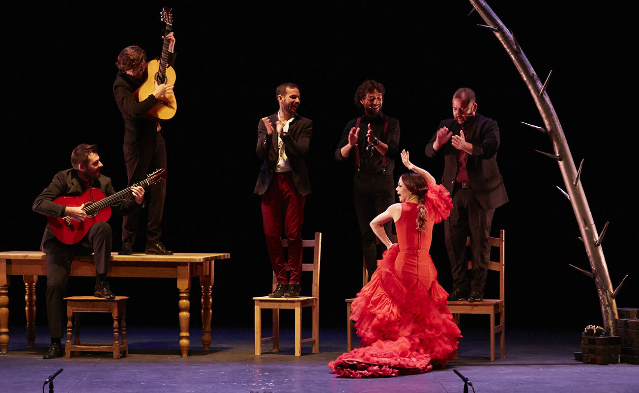 Olga Pericet. Flamenco Festival de Londres 2019. Foto: Elena Molina (FFL)