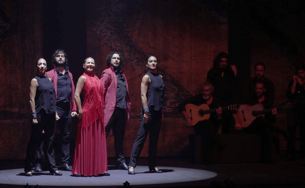 Compañía de Sara Baras. Flamenco Festival de Londres 2019. Foto: Elena Molina (FFL)