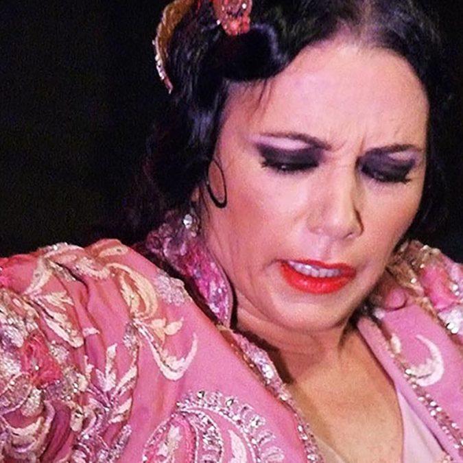 Eva Yerbabuena. Festival Gazpacho Andaluz 2019, Morón de la Frontera (Sevilla). Foto: Estela Zatania