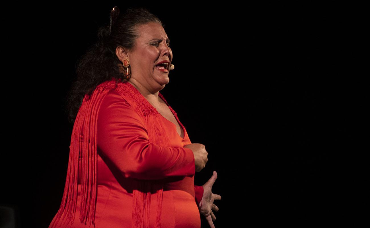 Eva de los Reyes. II Caló Flamenco a la Fiesta de la Bulería 2019. Foto: Fundarte