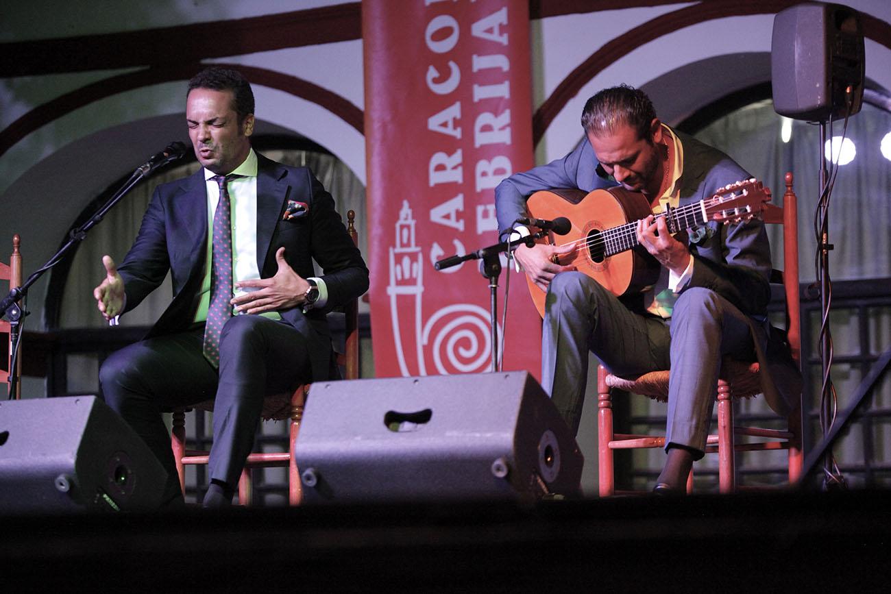 Jesús Méndez y Diego del Morao. 54ª Caracolá Lebrijana. Foto: Vicente Pachón