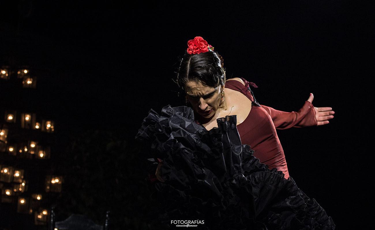 Luisa Palicio. LI Reunión de Cante Jondo de la Puebla de Cazalla. 13 julio 2019. Foto: CienXCien Flamenco