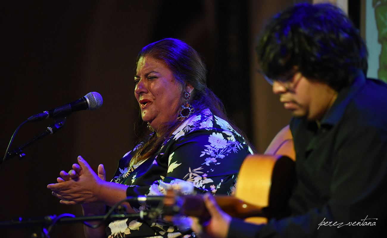 Homenaje a la bailaora Carmen Ledesma. Jueves Flamencos de los Veranillos del Alamillo, Sevilla. Foto: Quico Pérez-Ventana
