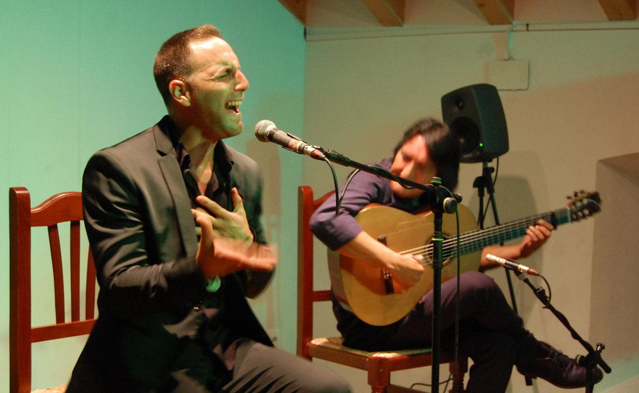 Enrique Afanador. Concurso El Cante en Rama, I Bienal de Cante de Jerez. Foto: Bienal de Cante de Jerez
