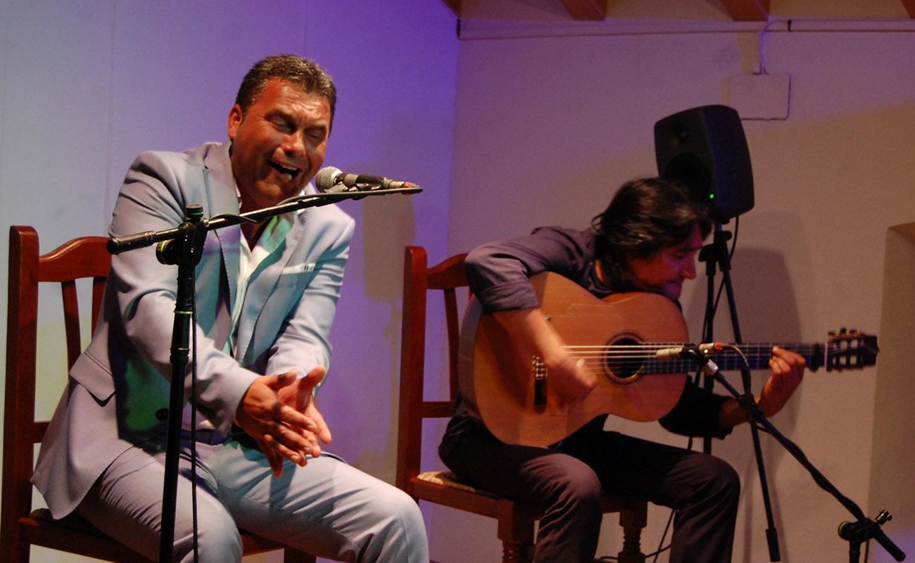 Ignacio Fajardo. Concurso El Cante en Rama, I Bienal de Cante de Jerez. Foto: Bienal de Cante de Jerez
