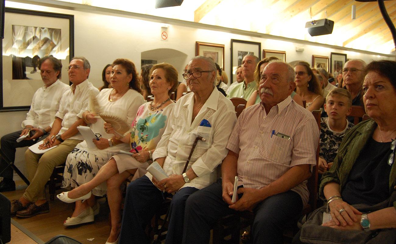 Miembros del jurado. Concurso El Cante en Rama, I Bienal de Cante de Jerez. Foto: Bienal de Cante de Jerez