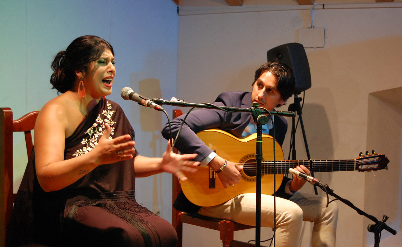 Saira Malena. Concurso El Cante en Rama, I Bienal de Cante de Jerez. Foto: Bienal de Cante de Jerez