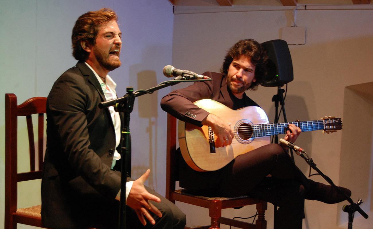 Sebastián Vilches. Concurso El Cante en Rama, I Bienal de Cante de Jerez. Foto: Bienal de Cante de Jerez