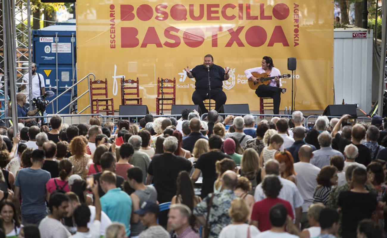 Actuación de Ezequiel Benítez. Festival Flamenco On Fire, Pamplona. Foto: Javier Fergo