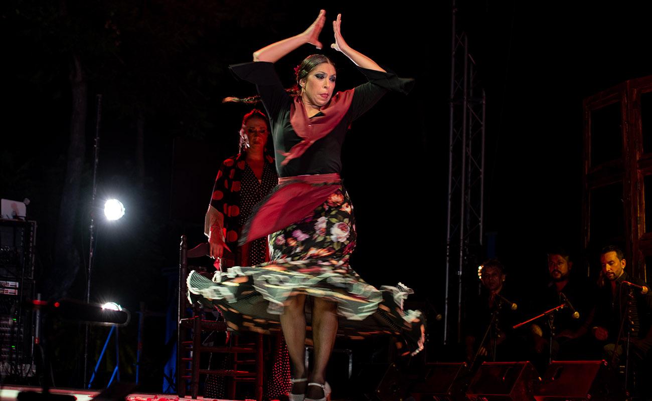 Fuensanta La Moneta. 'Mujeres de cal y cante'. 52ª Fiesta de la bulería de Jerez. Foto: Manu García