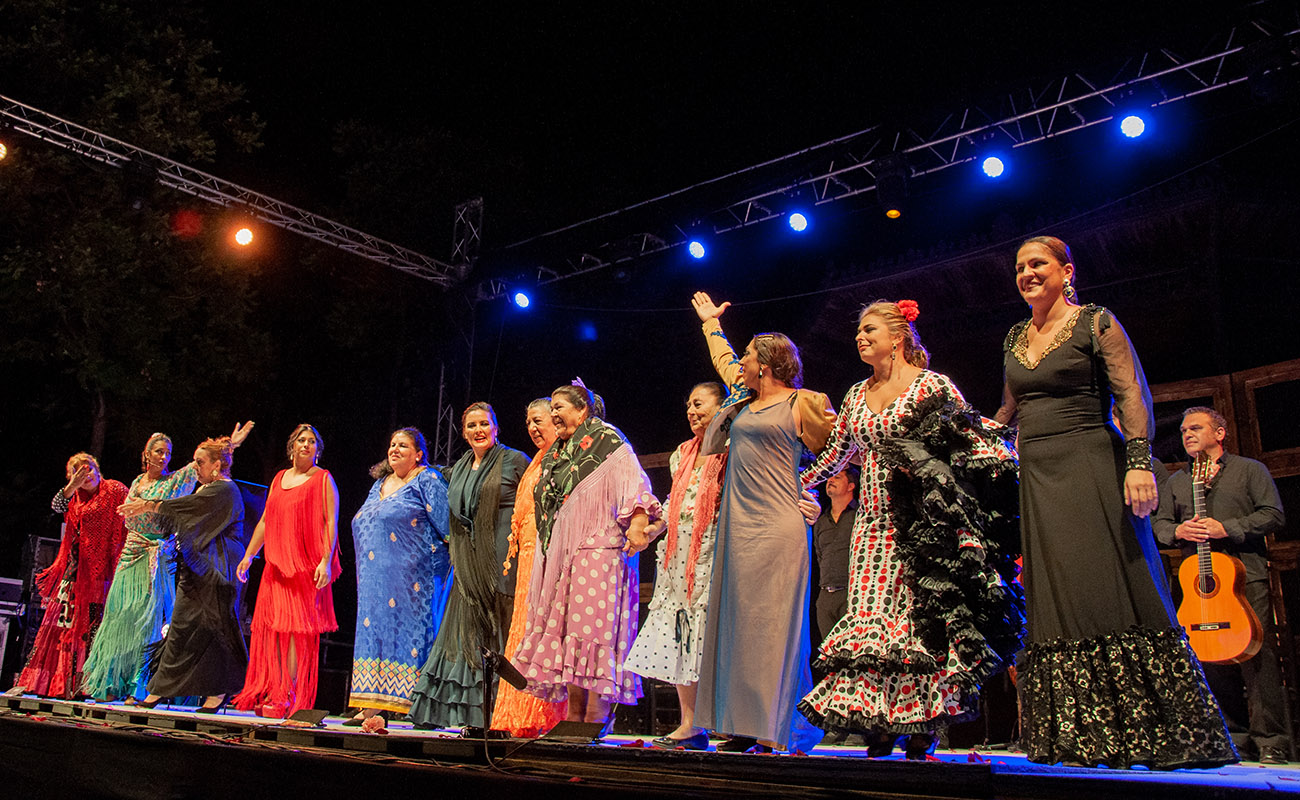 'Mujeres de cal y cante'. 52ª Fiesta de la bulería de Jerez. Foto: Manu García