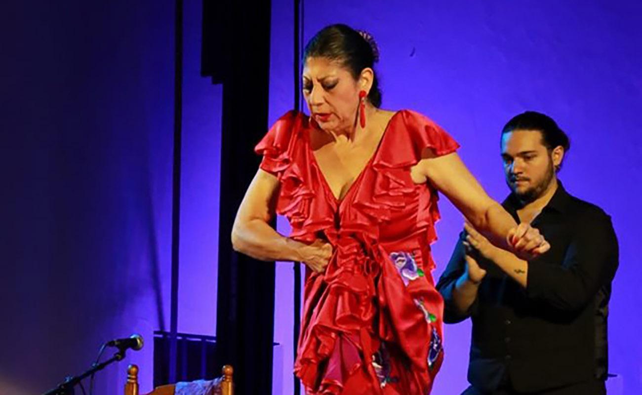 Manuela Carrasco. LVIII Festival de Cante Jondo Antonio Mairena. Foto: Festival de Mairena