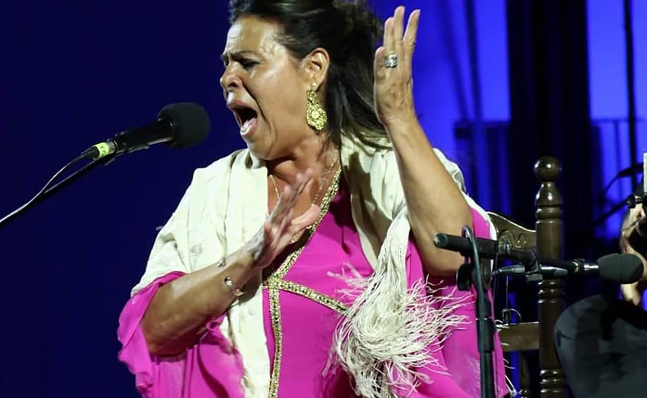 Aurora Vargas. LVIII Festival de Cante Jondo Antonio Mairena. Foto: Festival de Mairena