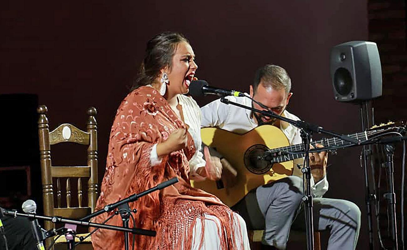 María Terremoto. LVIII Festival de Cante Jondo Antonio Mairena. Foto: Festival de Mairena