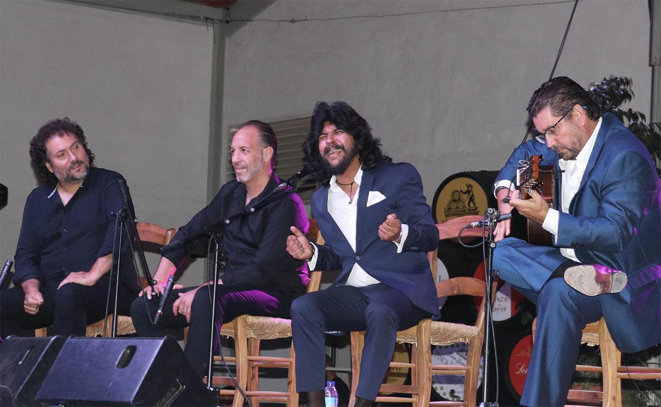 Rancapino Chico. 45ª Cata Flamenca de Montilla. Centro de Interpretación Envidarte, Montilla (Córdoba). 31 agosto 2019. Foto: Ayuntamiento de Montilla